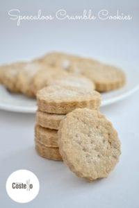 Speculoos Crumble Cookies