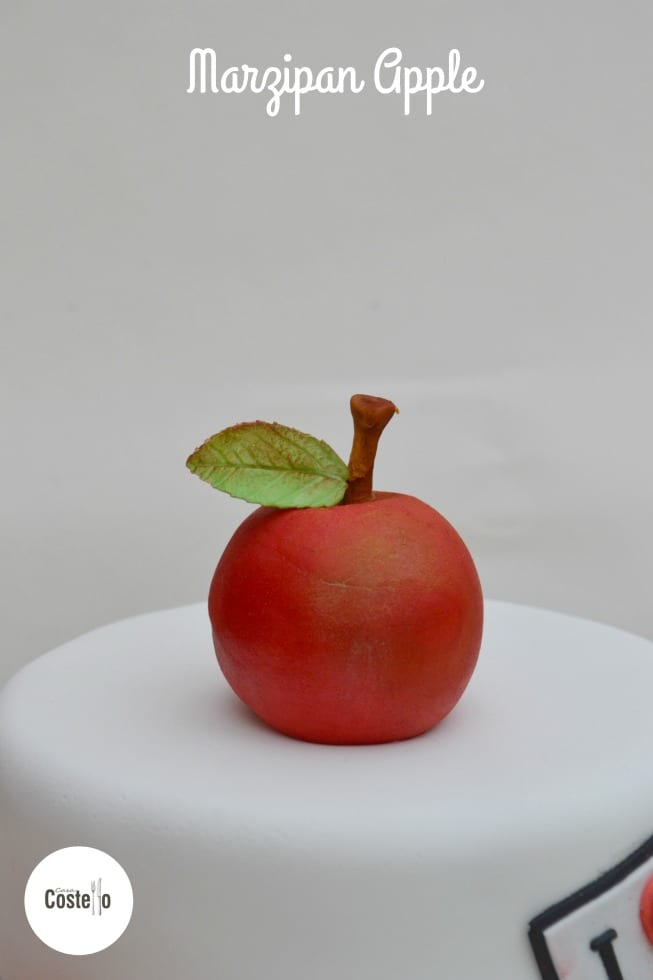 Marzipan Apple