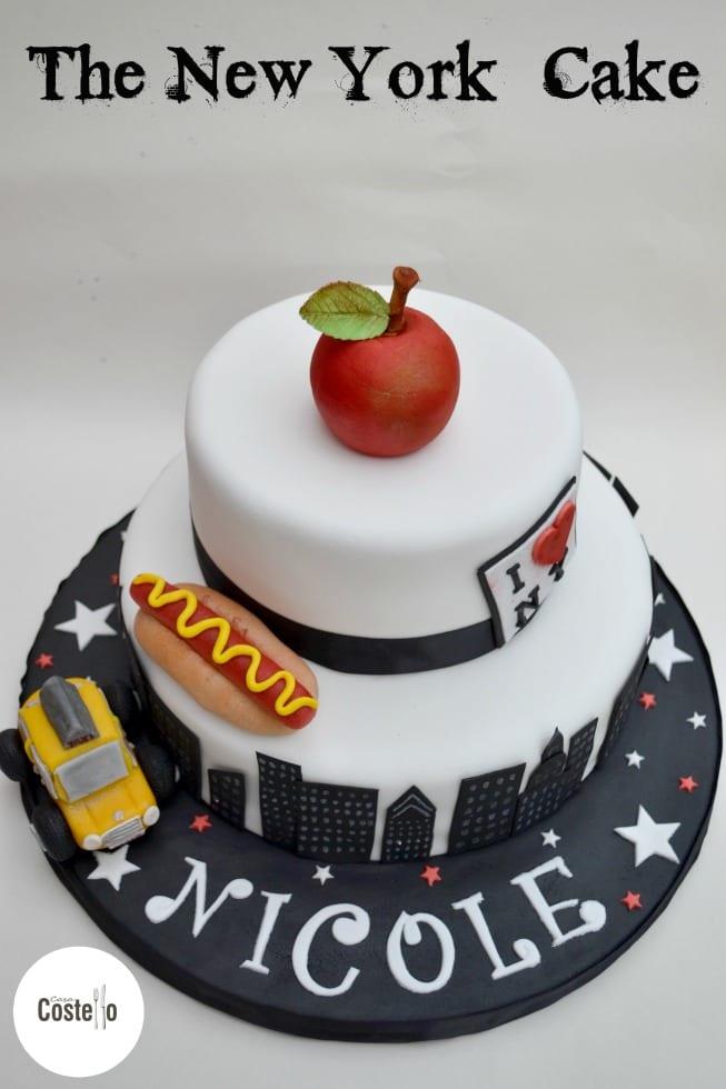 Strange New York Cake Bakeoftheweek Casa Costello Birthday Cards Printable Opercafe Filternl
