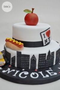 New York Lover's Cake