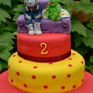Justin's House Birthday Cake