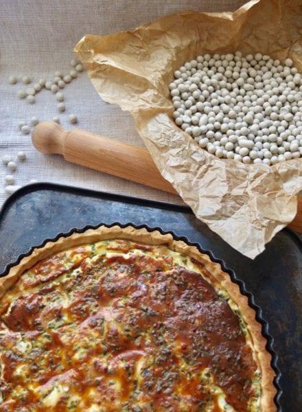 Mackerel Horseradish Quiche