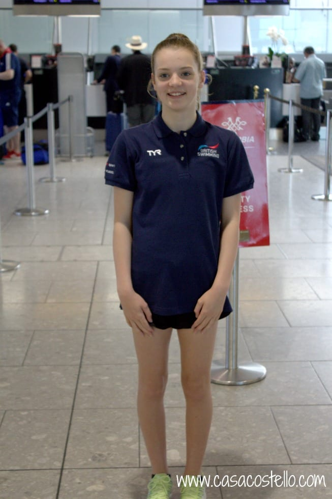 Millie Heathrow GB kit