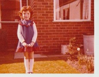 1970's School girl