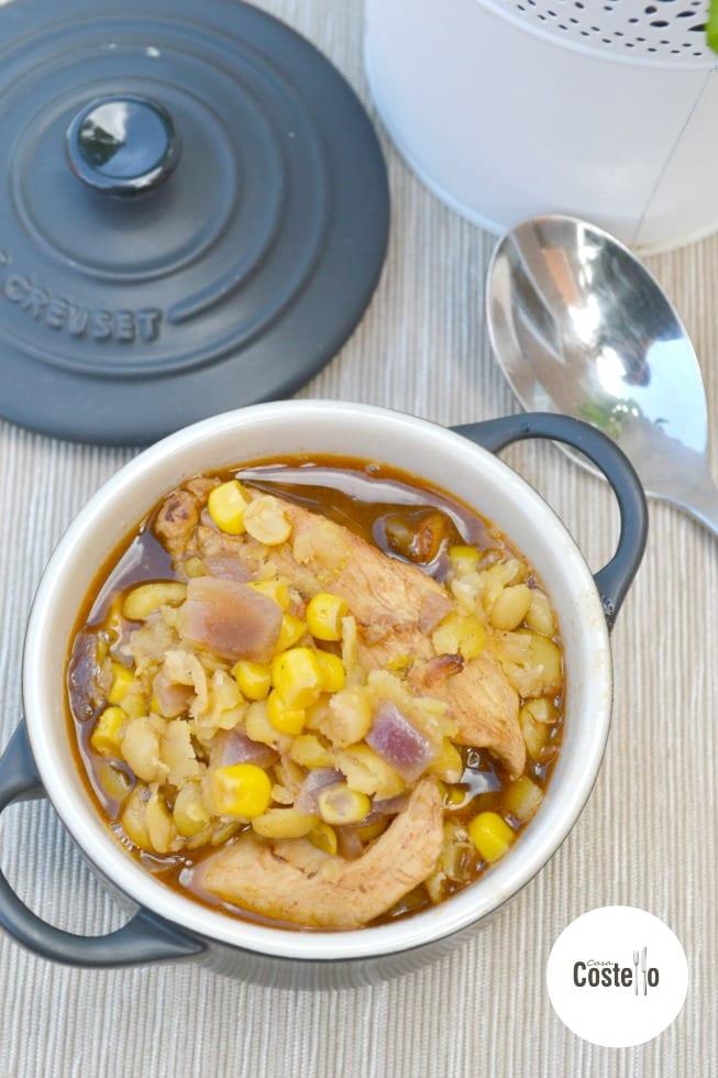 Piri Chicken & Lentil Bake
