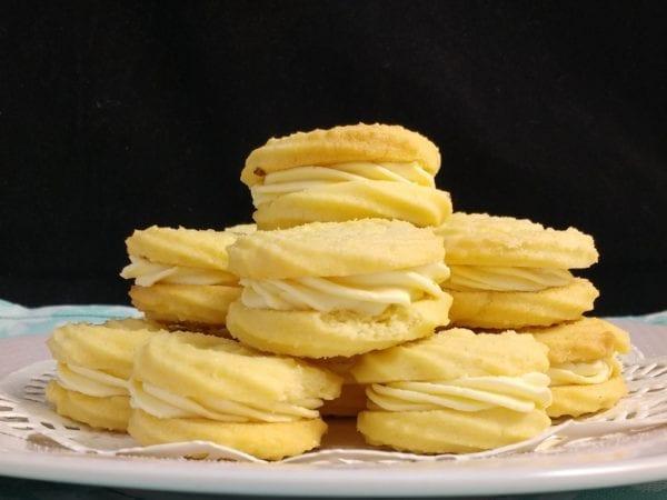 GF Almond Vanilla Viennese Whirls
