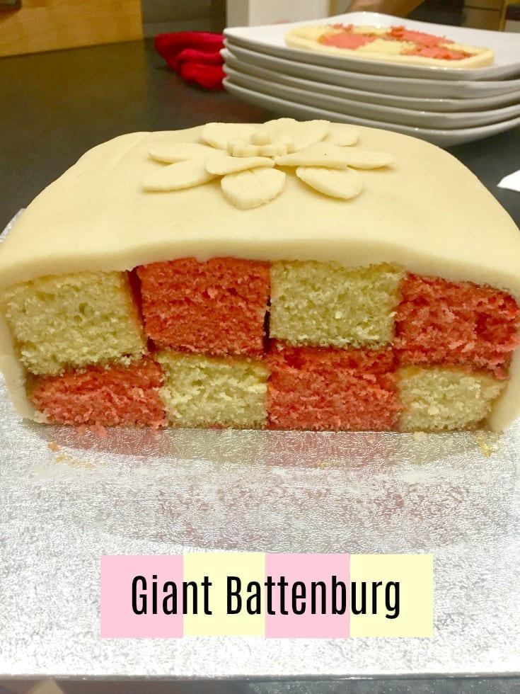 Giant Battenburg pattern Inside