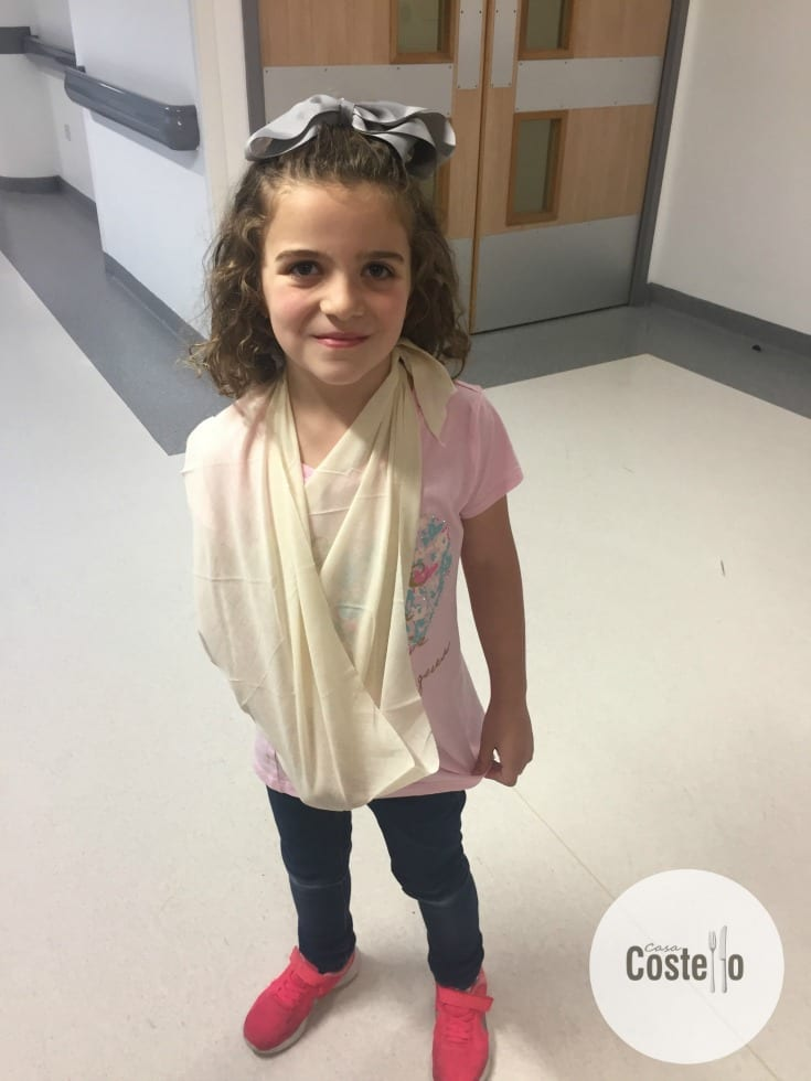 Child broken arm
