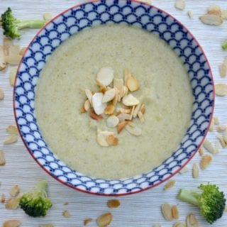 Comforting Broccoli & Almond Soup