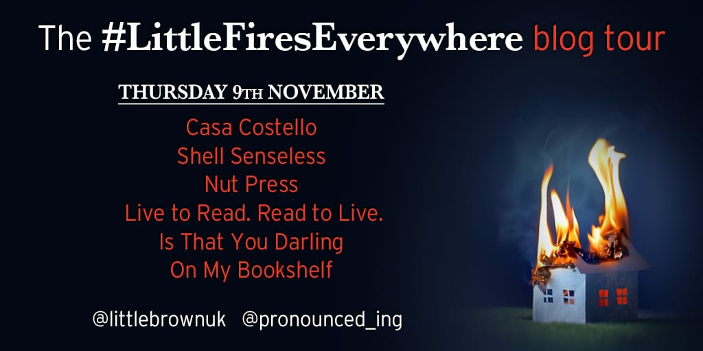 Little Fires Everywhere Book Tour