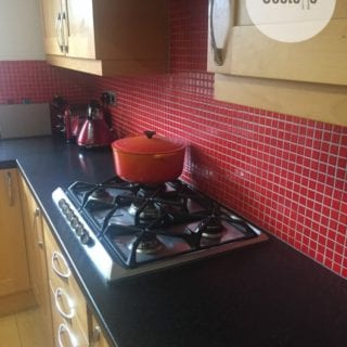 Red Kitchen Tiles