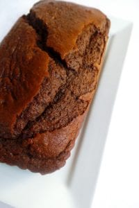 Vegan Chocolate Orange Loaf