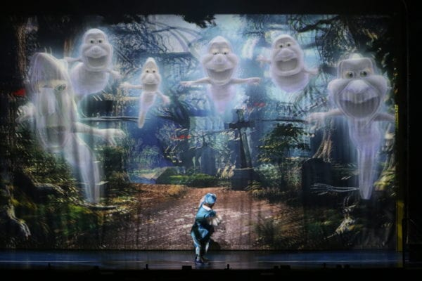 3D scene Panto St Helens