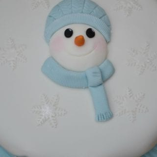 Snowman Christmas Cake – Bake of the Week