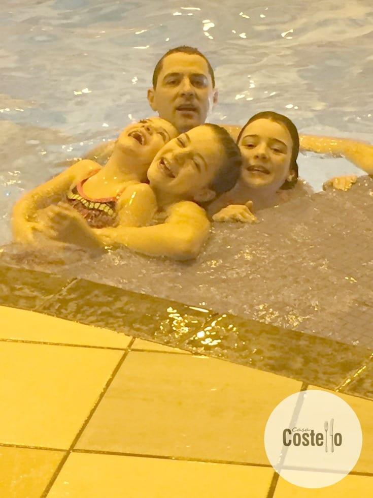 Siblings Swimming Pool