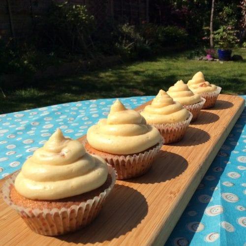 Tangy Marmalade Cupcakes