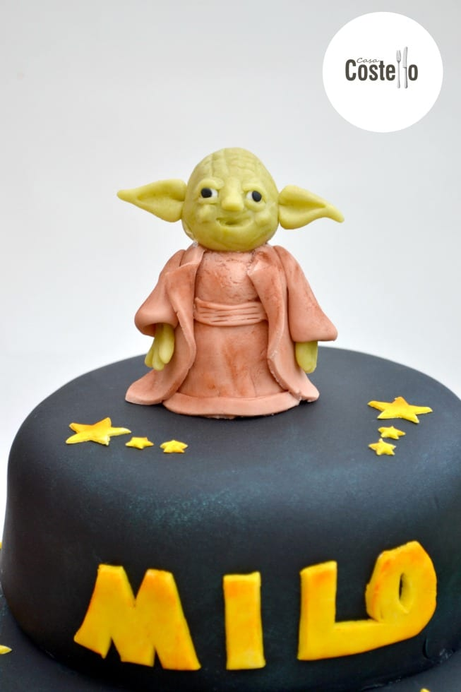 Astonishing Yoda Cake Topper Tutorial Star Wars Casa Costello Funny Birthday Cards Online Bapapcheapnameinfo
