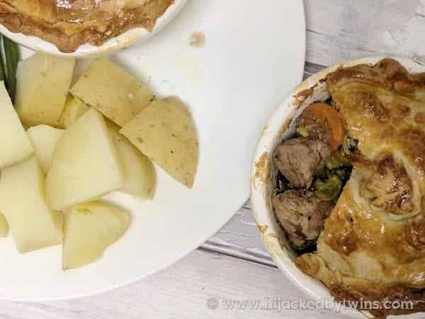 Turkey, Pheasant & Cranberry Pie