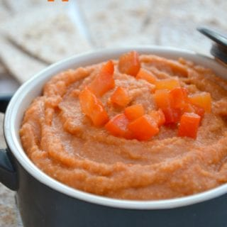 Roasted Red Pepper Hummus – Bake of the Week