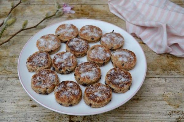 Wholemeal Spelt Welsh Cakes