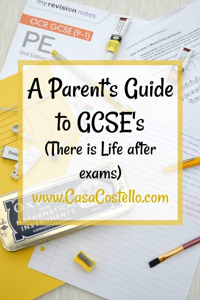 Parent's Guide to GCSE's