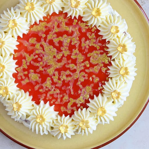 Celebratory GF Orange Cake
