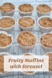 Fruity Muffins with Streusel