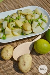 Lime & Mint Potato Salad