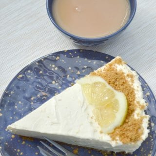 Lemon & Ginger No-Bake Cheesecake