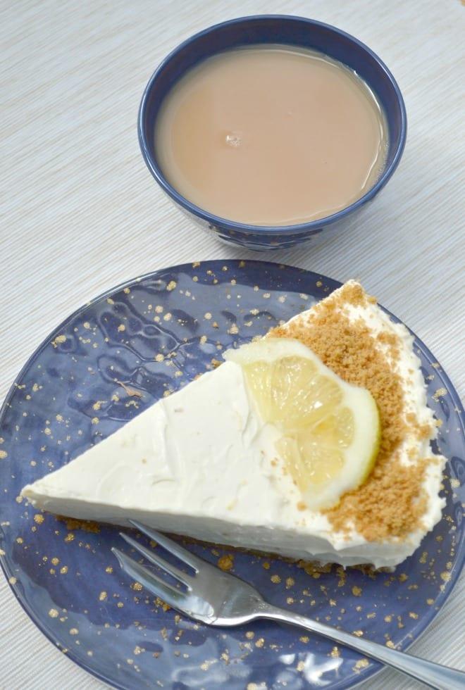 Lemon & Ginger No-Bake Cheesecake
