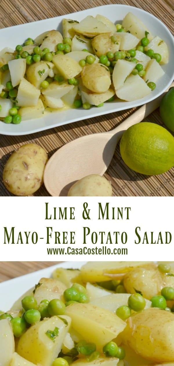 Lime & Mint Mayo-free Potato Salad