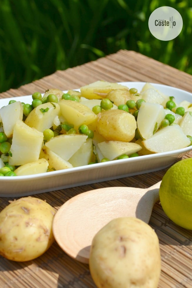 Lime & Mint Potato Salad