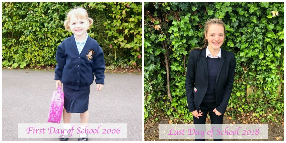 First last day at school