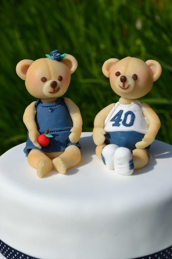 Marzipan Teddy Cake Topper