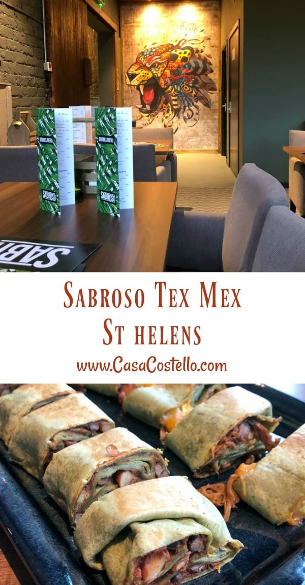Sabroso Tex Mex Restaurant St Helens Review