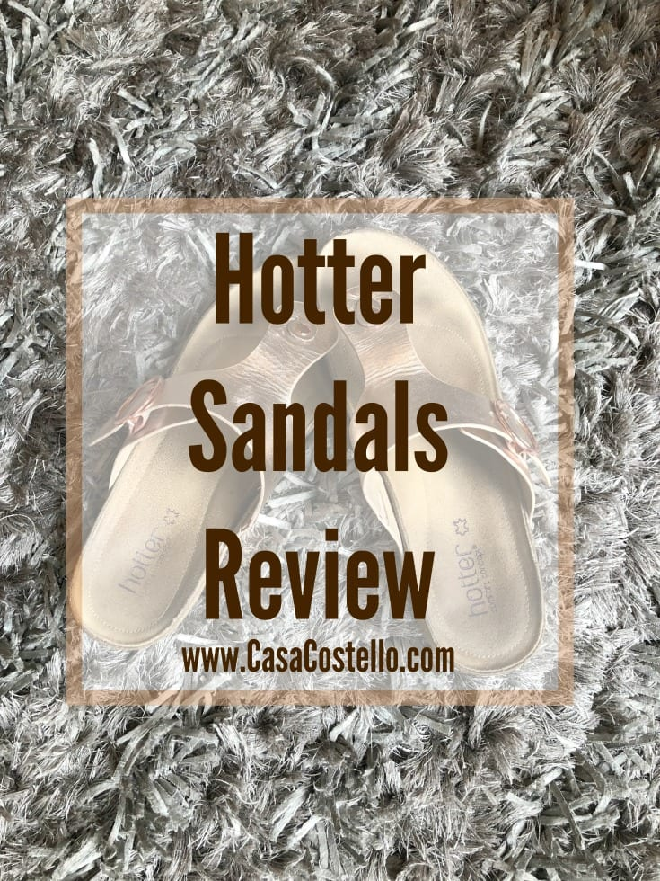 Hotter Sandals Review