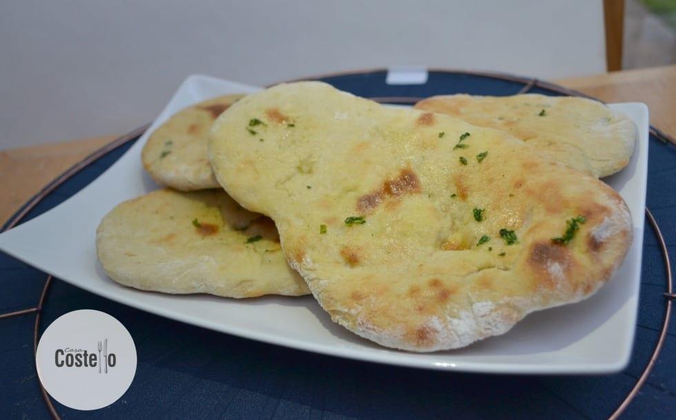 Garlic Coriander Naan Breads