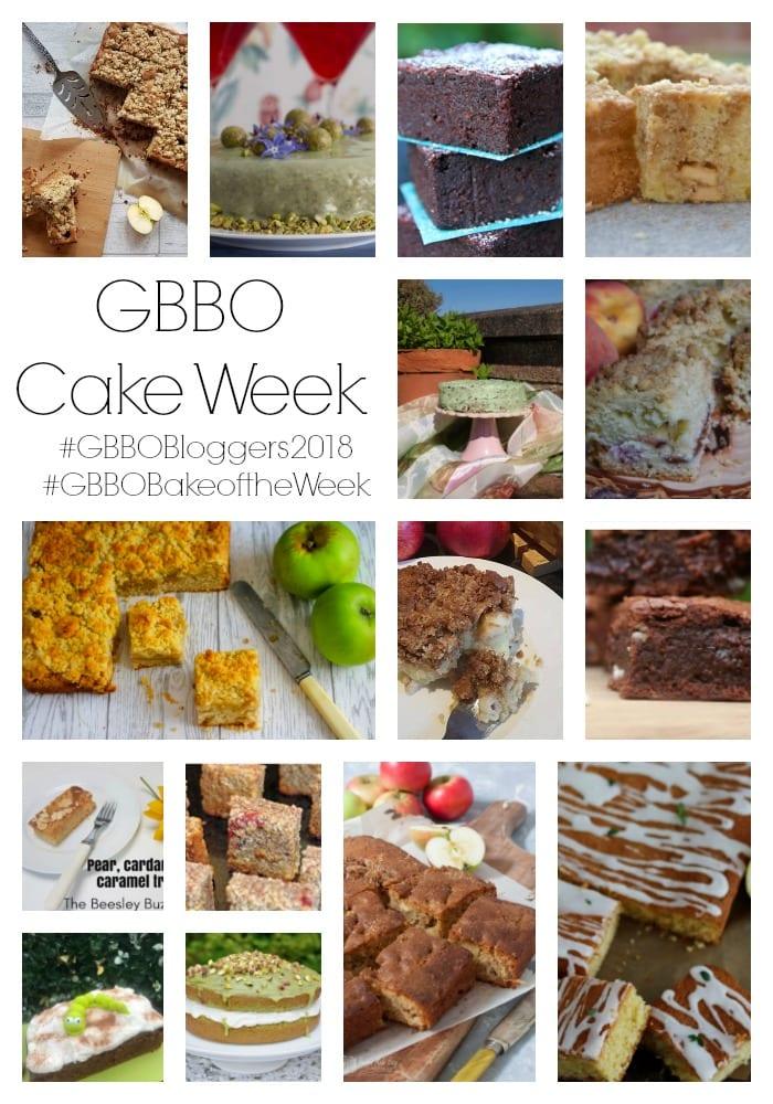 #GBBOBakeoftheWeek Cake Week