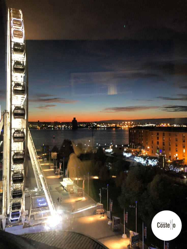 Liverpool Albert Dock by Night