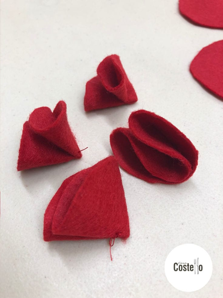 Making Felt Poppies Tutorial