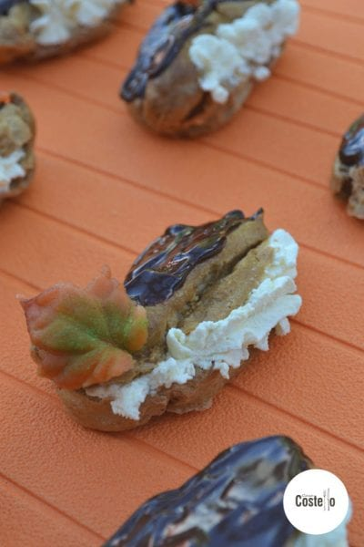 Mini Pumpkin Spice Eclair