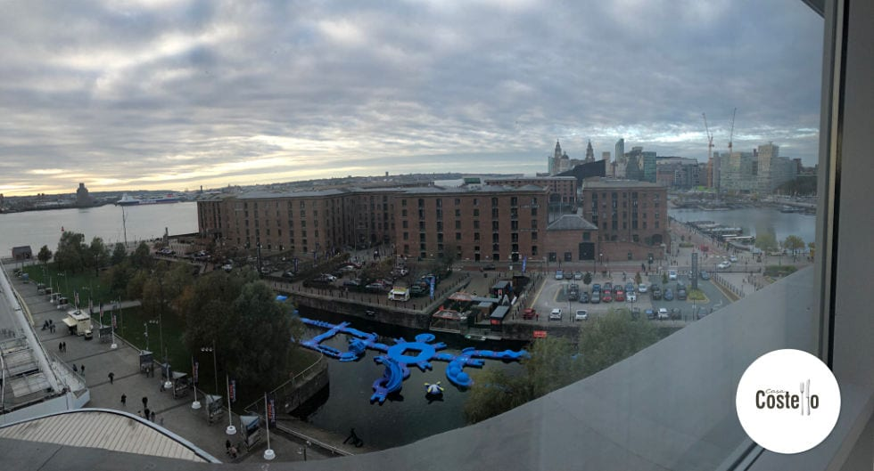 View from Jury's Inn Liverpool