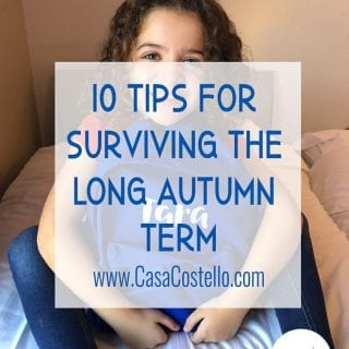 10 Tips for Surviving the Long Autumn Term