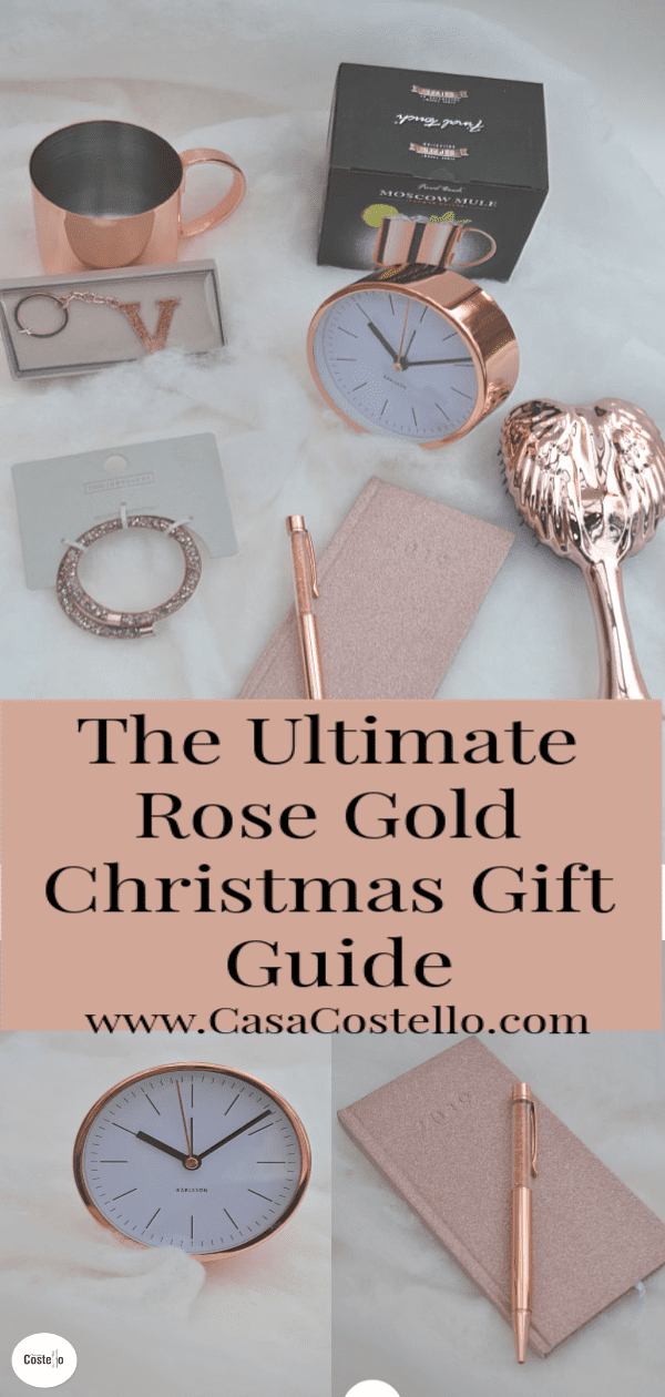 The Ultimate Christmas Rose Gold Gift Guide