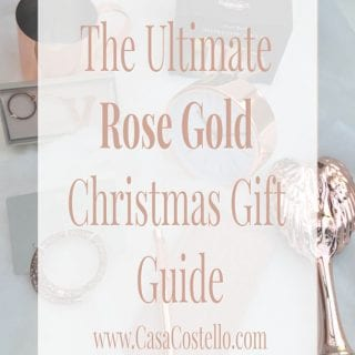 The Ultimate Rose Gold Christmas Gift Guide