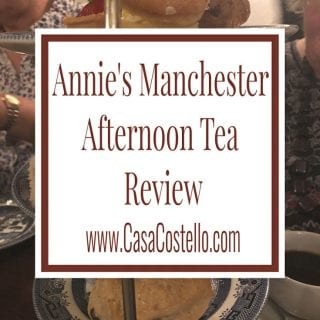 Annie's Manchester Afternoon Tea Review