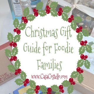 Christmas Gift Guide for Foodie Families