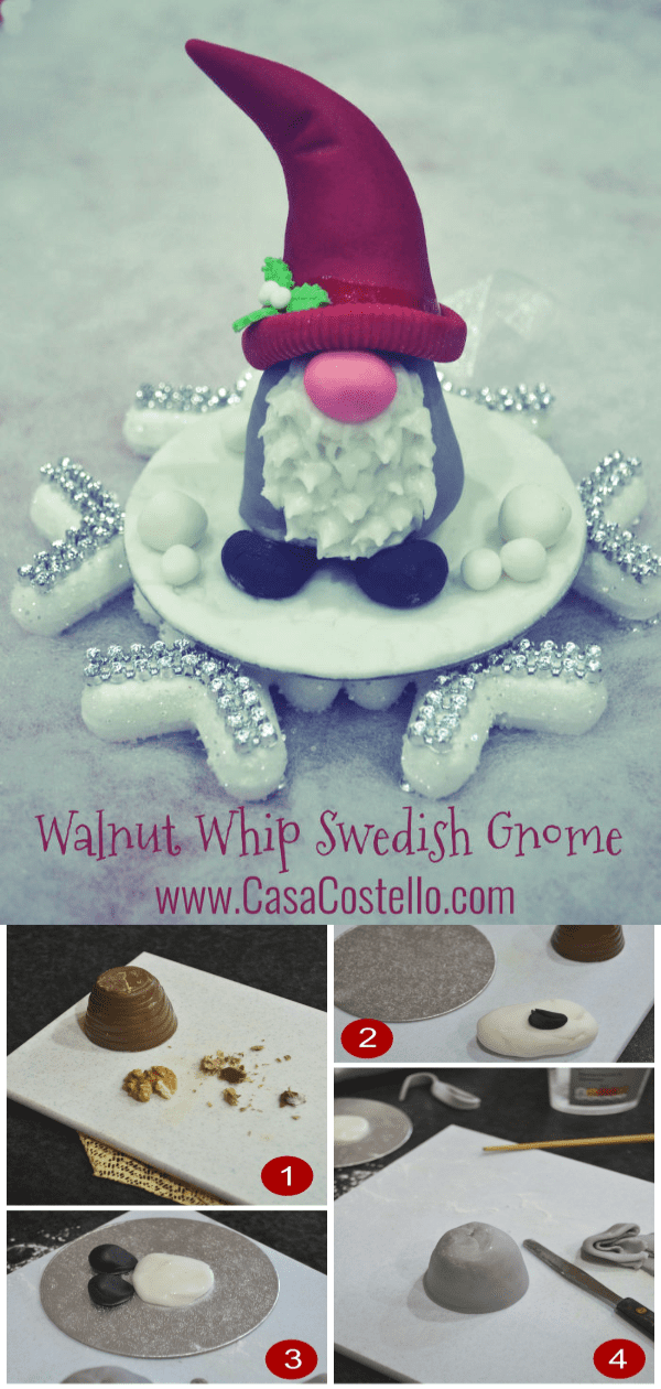 Step by Step tutorial on how to make a Walnut Whip Swedish Gnome