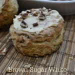 Brown Sugar White Chocolate Pecan Scones