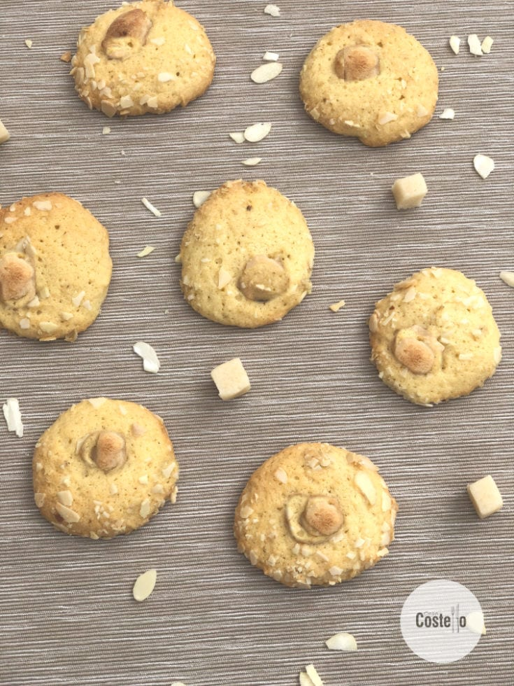Almond Melting Moments Biscuits